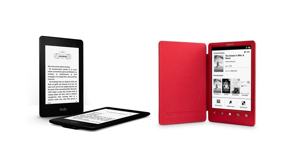 el mejor ebook ereader 2014 kindle paperwhite vs sony