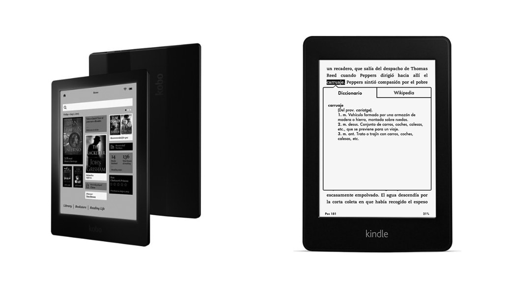 are you able to read corner books on kindle