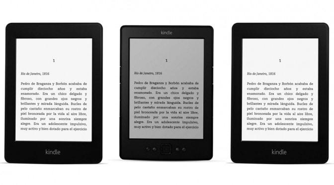Modelos de Kindle eReader
