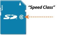 speed class microSD