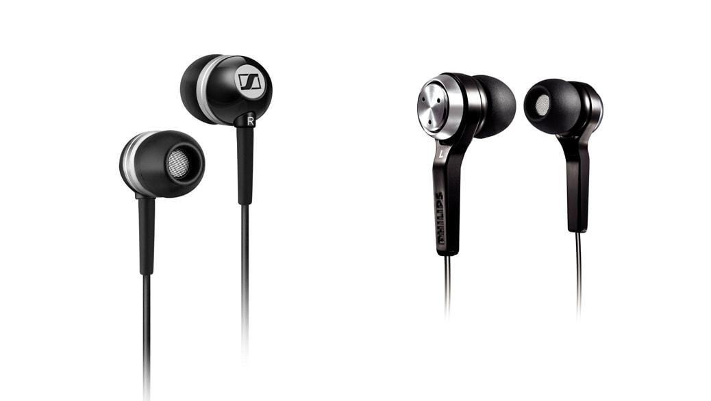 Los mejores auriculares con reducción de ruido: Sennheiser CX 300-II vs Philips SHE8500