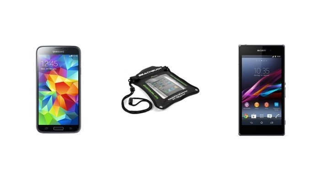 Smartphones Android resistentes al agua y al polvo ¿Quieres sumergir tu móvil?