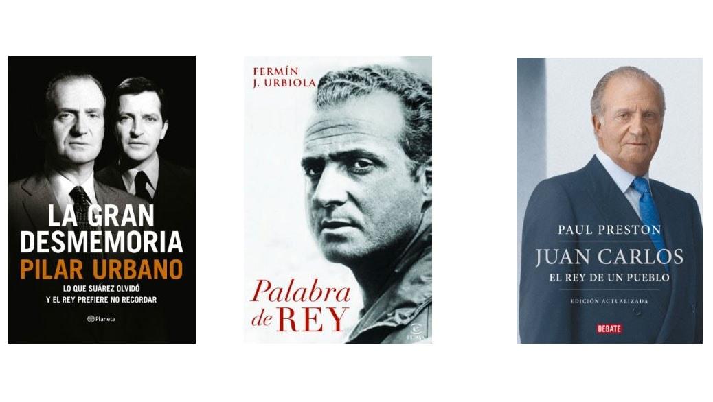 El Rey de España abdica… Los 3 mejores libros (ebooks) sobre el Rey Juan Carlos