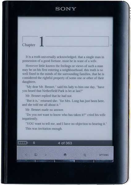 Sony Touch Edition PRS-600 ereader