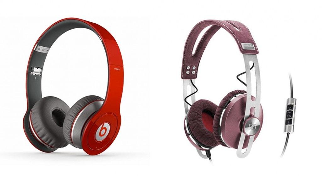 Los auriculares de moda en 2014: Beats by Dr. Dre Wireless vs Sennheiser Momentum ON-EAR