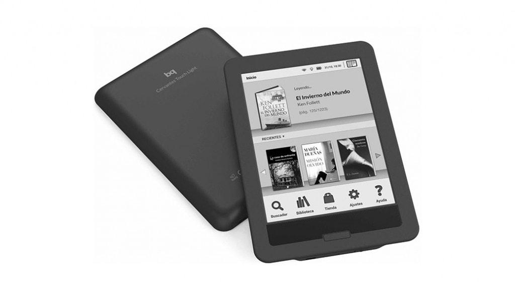 bq Cervantes Touch Light, el e-Reader táctil 'made in Spain'