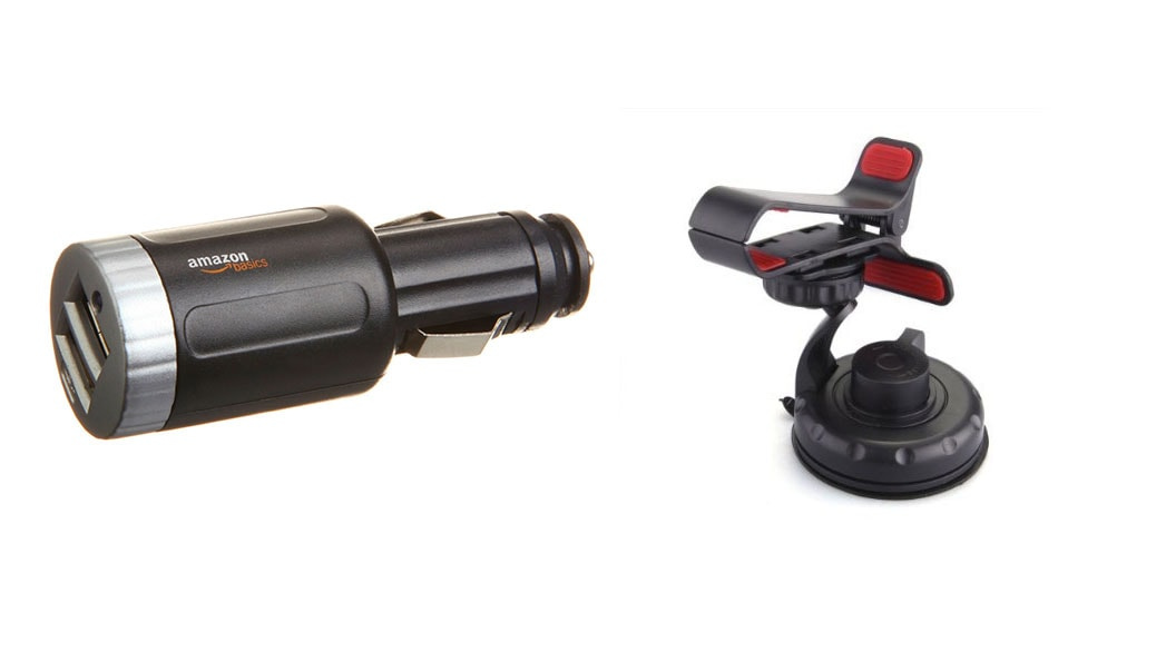 2 dispositivos indispensable para tu coche: cargador de coche USB y soporte para móviles