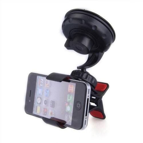 soporte para el parabrisas donde poder poner le móvil.