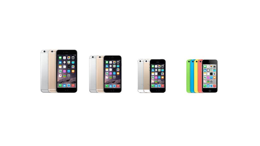 Apple iPhone 5s vs Apple iPhone 6 vs Apple iPhone 6 Plus