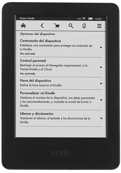 nuevo Kindle de 79 euros