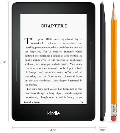 Kindle voyage amazon