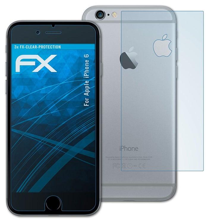 laminas protectoras para la pantalla del iPhone 6