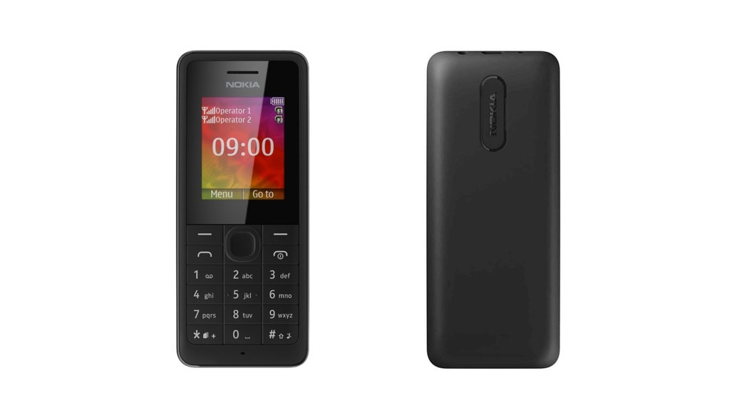 Nokia 107 DUAL SIM – El móvil perfecto para hacer llamadas
