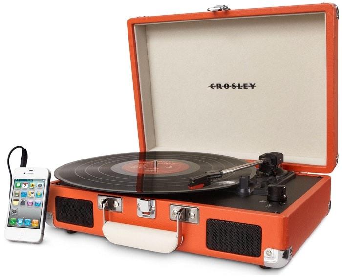 Crosley Cruiser - Tocadiscos de vinilo portátil