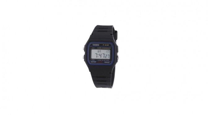 Reloj Casio 2900 F-91 – La correa negra más retro esta de vuelta