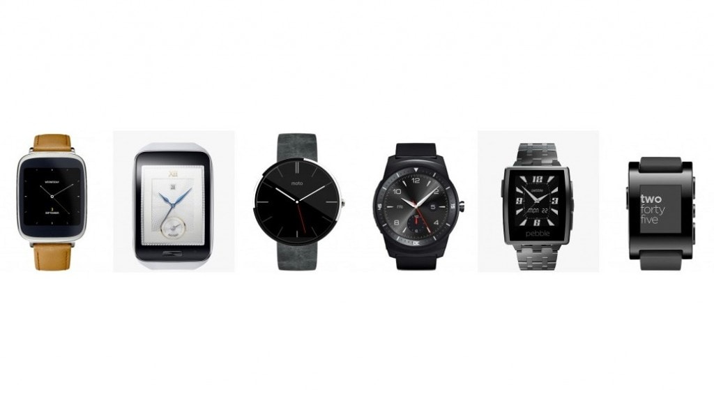 Comparativa smartwatch 2014: Asus ZenWatch vs Samsung Gear S vs Motorola Moto 360 vs LG G Watch R vs Pebble Steel vs Pebble