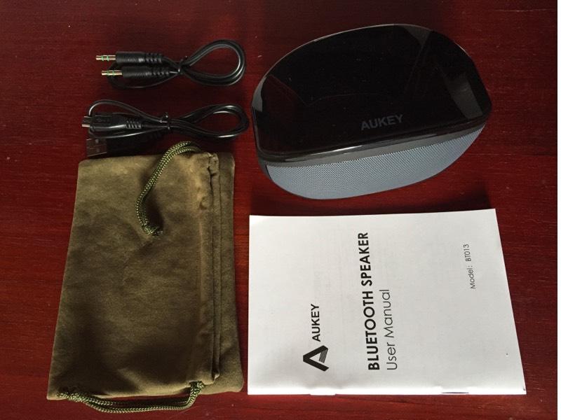 Aukey BT013 - Altavoz Bluetooth portatil - Opinión y análisis