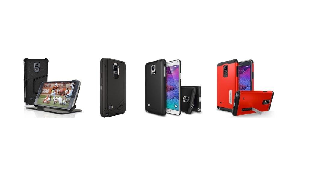 Las mejores carcasas (fundas) para el Samsung Galaxy Note 4