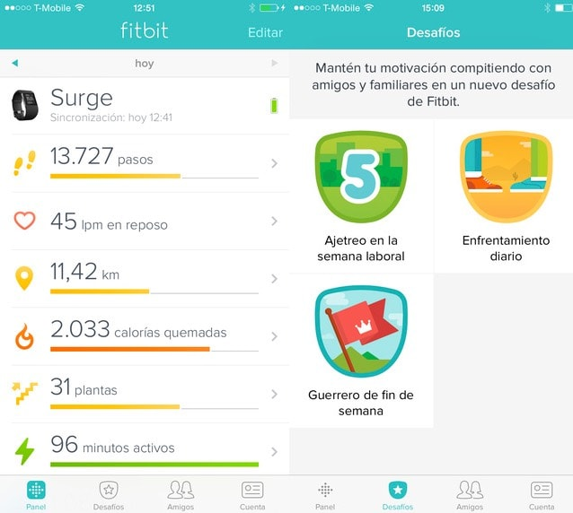 Fitbit Charge HR app