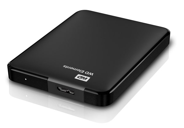"Western Digital Elements - Disco duro externo de 2 TB (USB 3.0 y 2.5"")"