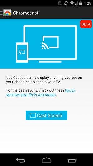 Duplica la pantalla de tu dispositivo Android en tu televisor