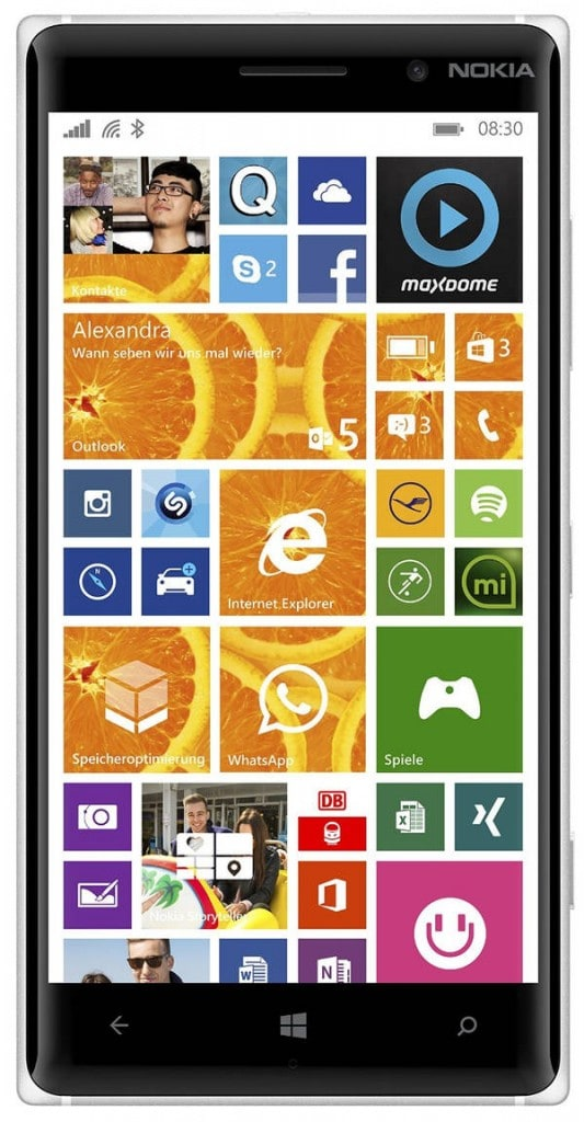 3 smartphones con un precio muy asequible y una duración de batería extraordinaria: nokia lumia 830