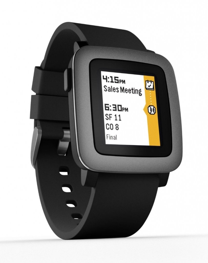 Smartwatches y pulseras fitness: pebble time