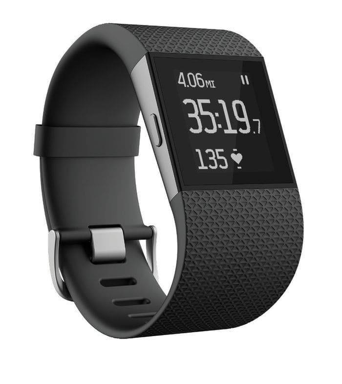 La mejor pulsera fitness de Fitbit para deportistas profesionales: Fitbit Surge