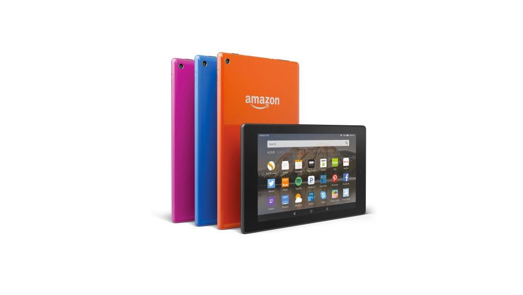 Nuevos tablets Fire HD 8, Fire HD 10 y reproductor multimedia Fire TV de Amazon