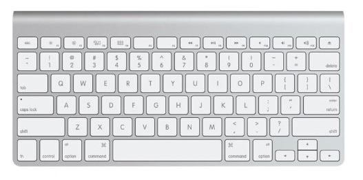 3 accesorios imprescindibles para el nuevo Apple TV 2015: teclado bluetooth