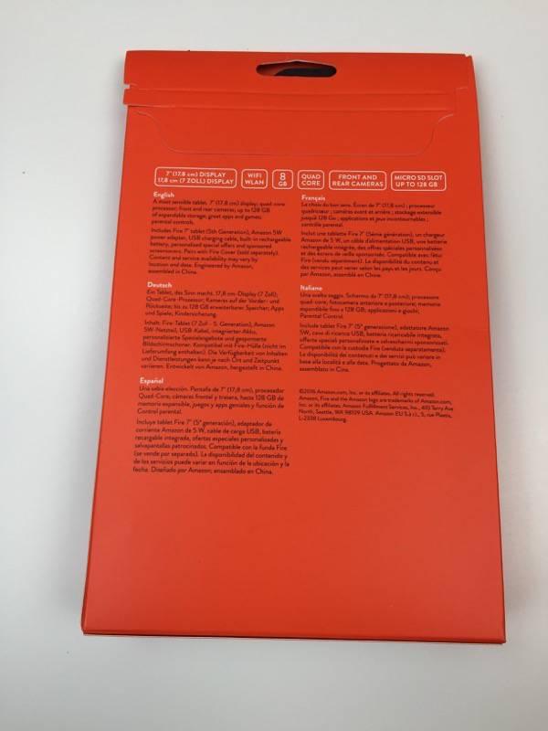 Amazon Fire Tablet 7″