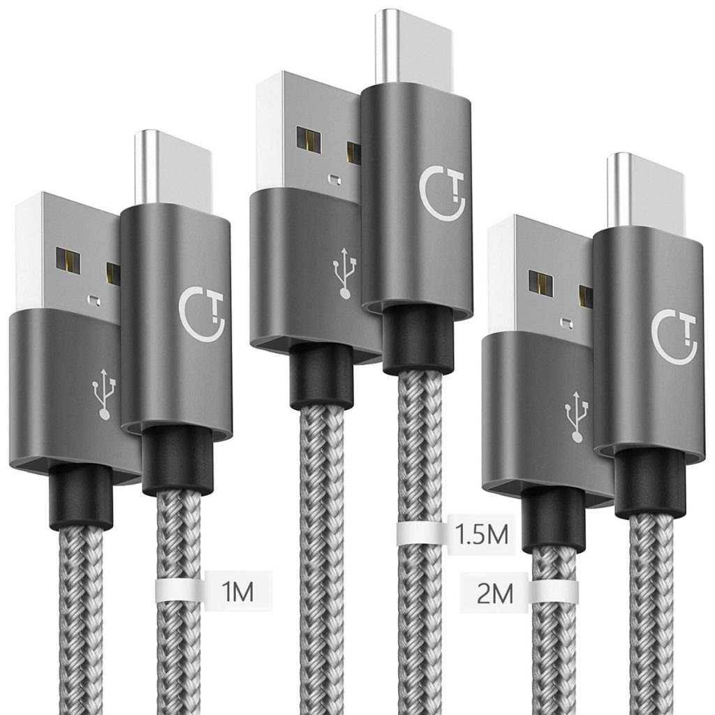 Gritin Cable USB C, 3-Pack