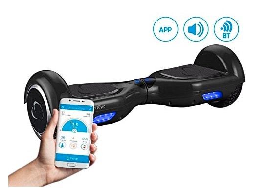 SmartGyroX2 Negro - Patinete eléctrico con batería Samsung y certificado UL2272