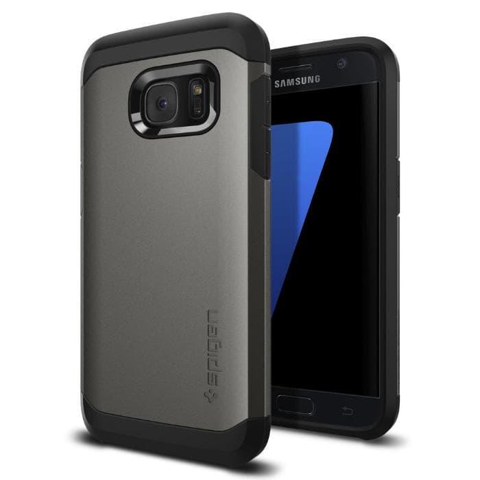 Spigen Tough Armor Gunmetal para el Samsung Galaxy S7
