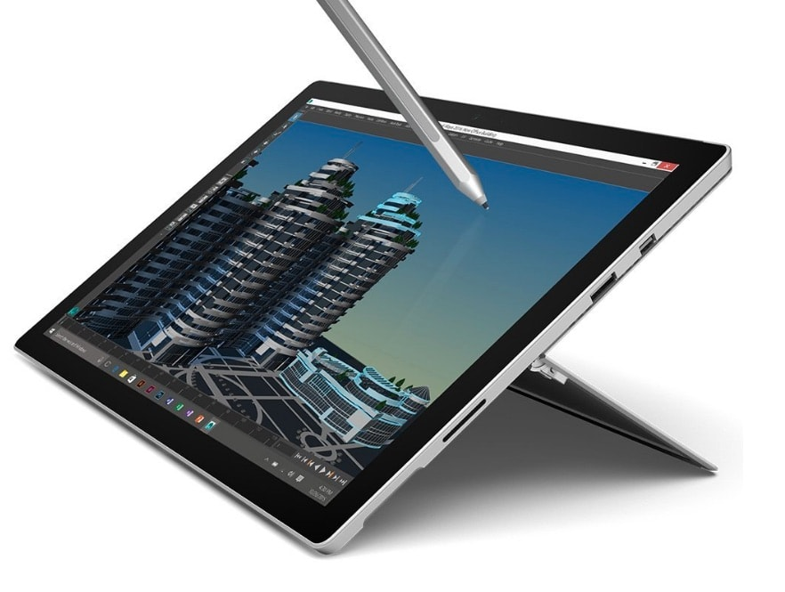 "Microsoft Surface Pro 4 - Tablet de 12.3"" (Intel Core i5-6200U, 4 GB RAM, 128 GB SSD, Windows 10 Pro)"