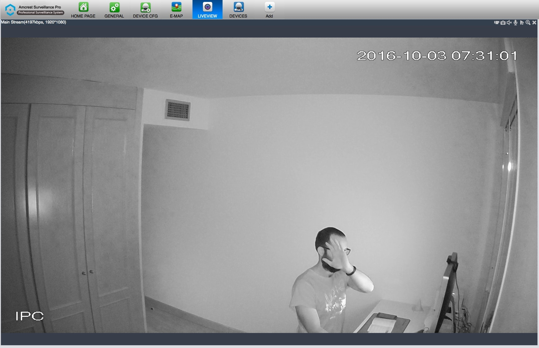 Amcrest IP2M-841B, Cámara IP de Seguridad