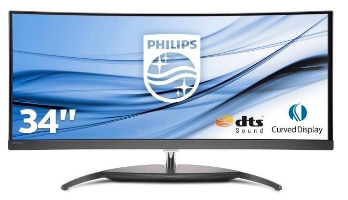 """Los mejores monitores y pantallas en 2019 para tu ordenador: Philips Brilliance BDM3490UC monitor de 34"""""""