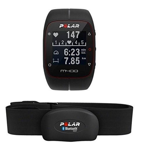 Polar M400 HR – Reloj de entrenamiento con GPS integrado