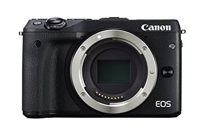 -Canon EOS M3 – Cámara réflex digital de 24.7 Mp