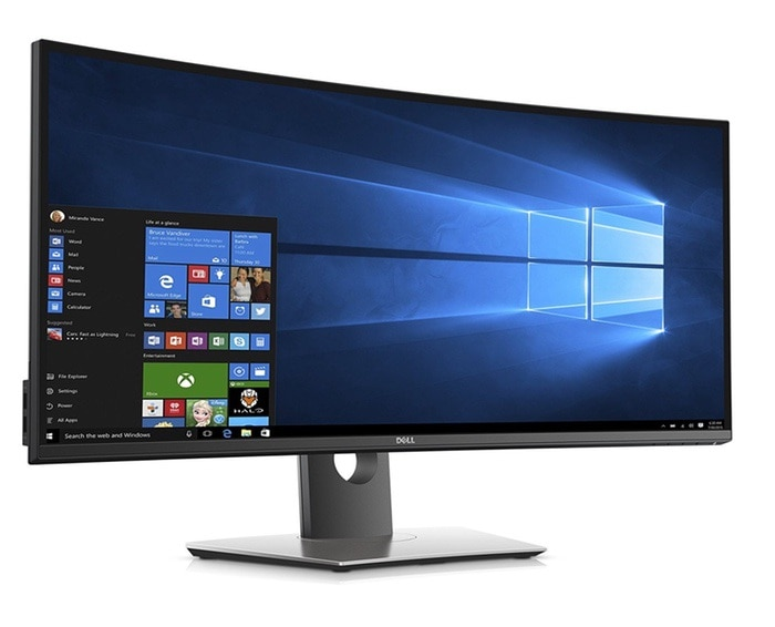 "DELL UltraSharp U3417W 34.14"" UltraWide Quad HD IPS Negro pantalla para PC LED display - Monitor (86,7 cm (34.1""), 3440 x 1440 Pixeles, LED, 8 ms, 300 cd / m², Negro)"