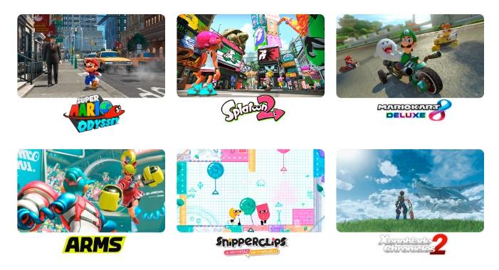 Nintendo Switch Videojuegos