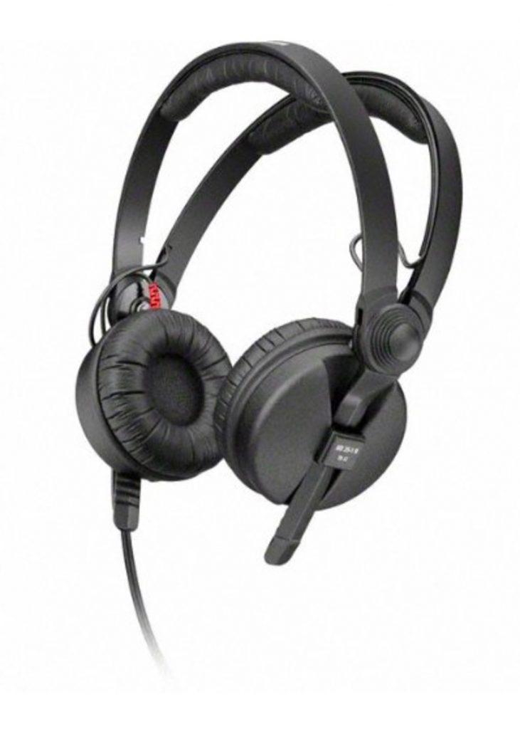 Mención especial: Sennheiser HD 25-1-II Basic Edition - Auriculares de diadema cerrados