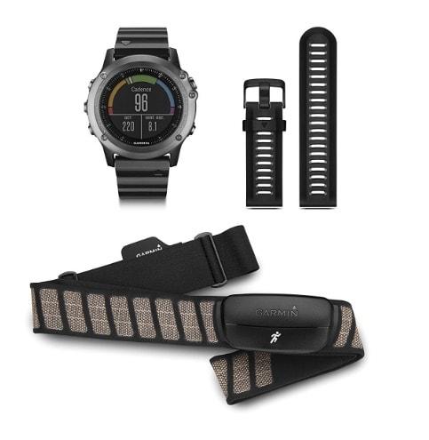 Garmin Fénix 3 HRM – Reloj GPS con pulsómetro HRM-Run
