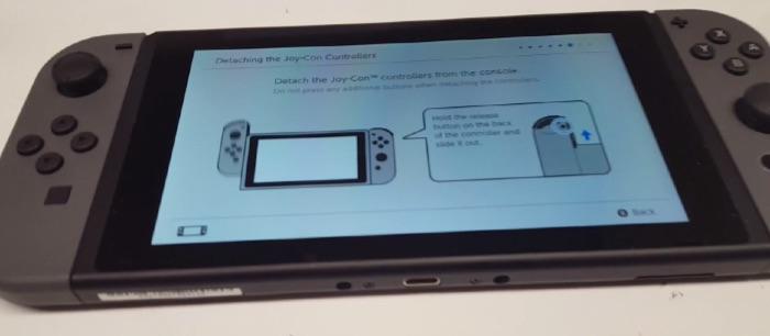 nueva Nintendo Switch video