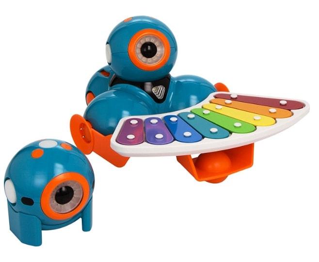 Wonder Workshop - Pack robots educativos Dash y Dot con set completo de accesorios