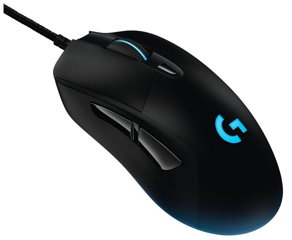 Logitech G403:Ratón óptico con cable o inalámbrico para gaming (12.000 DPI, 16,8 millones de colores, PC, MAC, USB)