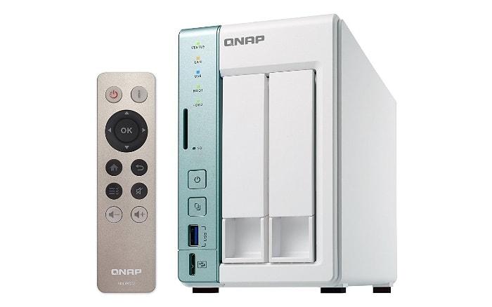 QNAP Turbo TS-251A - Dispositivo de almacenamiento en red NAS