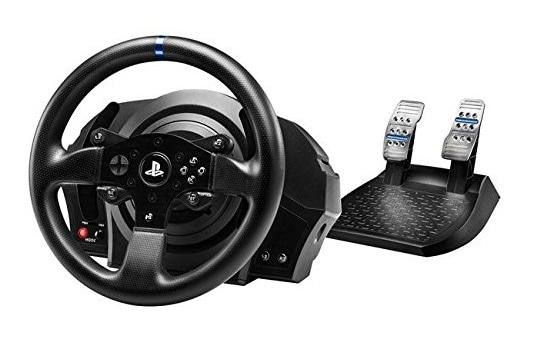 Thrustmaster - Volante T300 RS con pedales para PS4, PS3 y PC