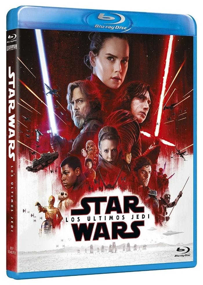 Star Wars: Los Últimos Jedi [Blu-ray]