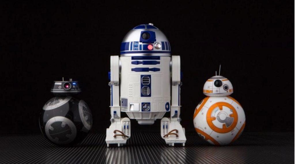 Star Wars BB-9E y R2-D2 de Sphero